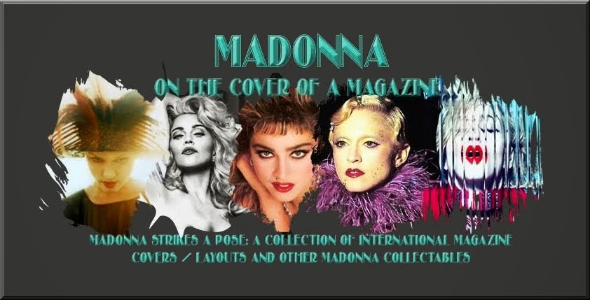 Madonna : On The Cover Of A Magazine OTCOAM