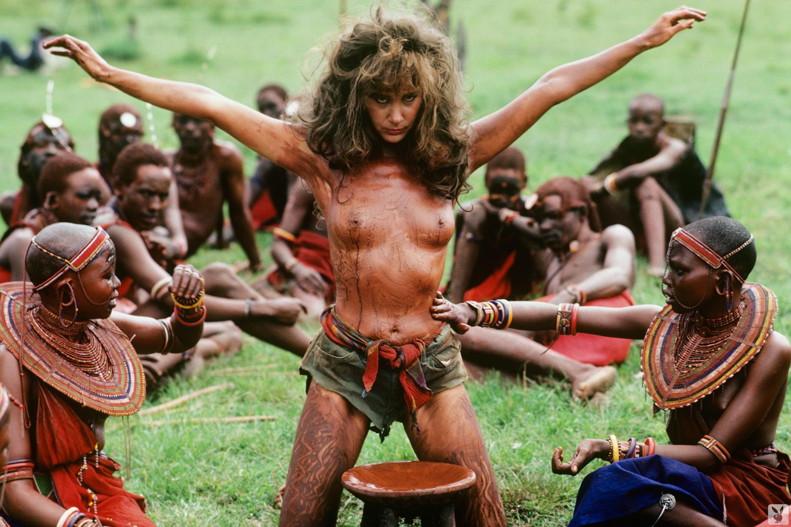 Чёрный африканский секс 14 фотография