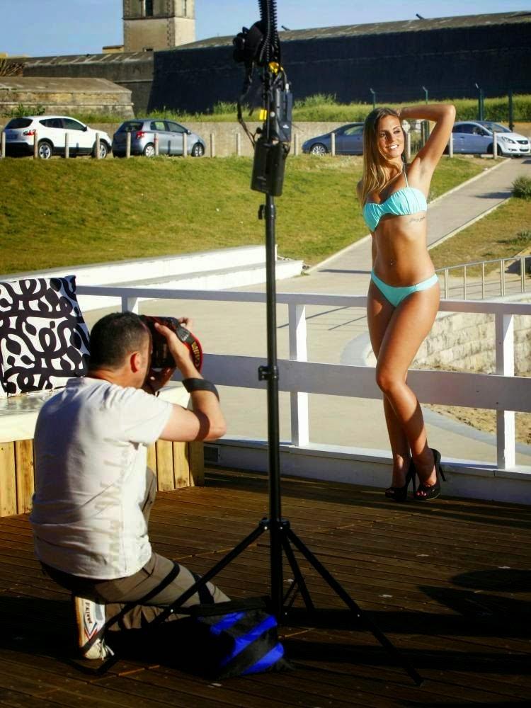 Liliana da Casa dos Segredos 5 em bikini para o CM Vidas