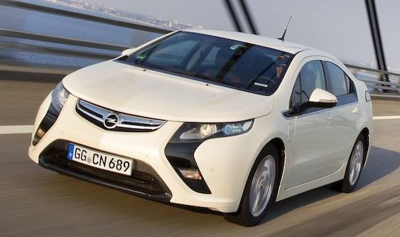 Opel Ampera 2012 Car Barn Sport