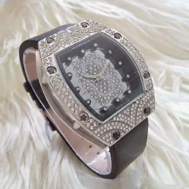 Jam Tangan Richard Mille Syarini Silver