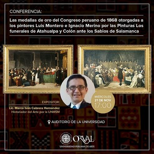 Nueva Conferencia. Medallas de Montero y Merino
