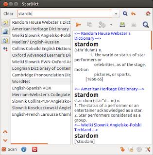 StarDict GNU/Linux