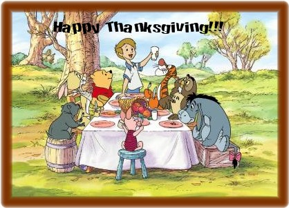 thanksgiving wallpapers winnie the pooh thanksgiving