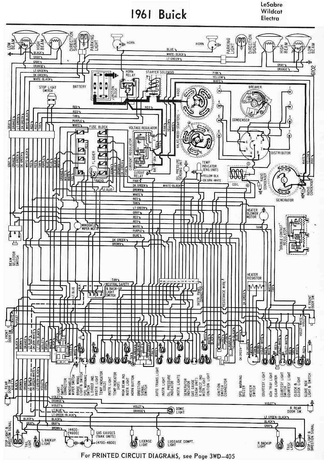 all about wiring diagrams 1961 buick lesabre wildcat and electra wiring diagram