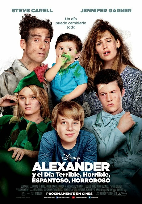 Alexander y el día terrible, horrible, espantoso, horroroso en Español Latino