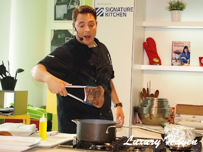 food network asia jeff mauro searing beef briskets