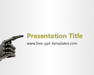 robot powerpoint template - 28 images - best robot powerpoint, Powerpoint templates