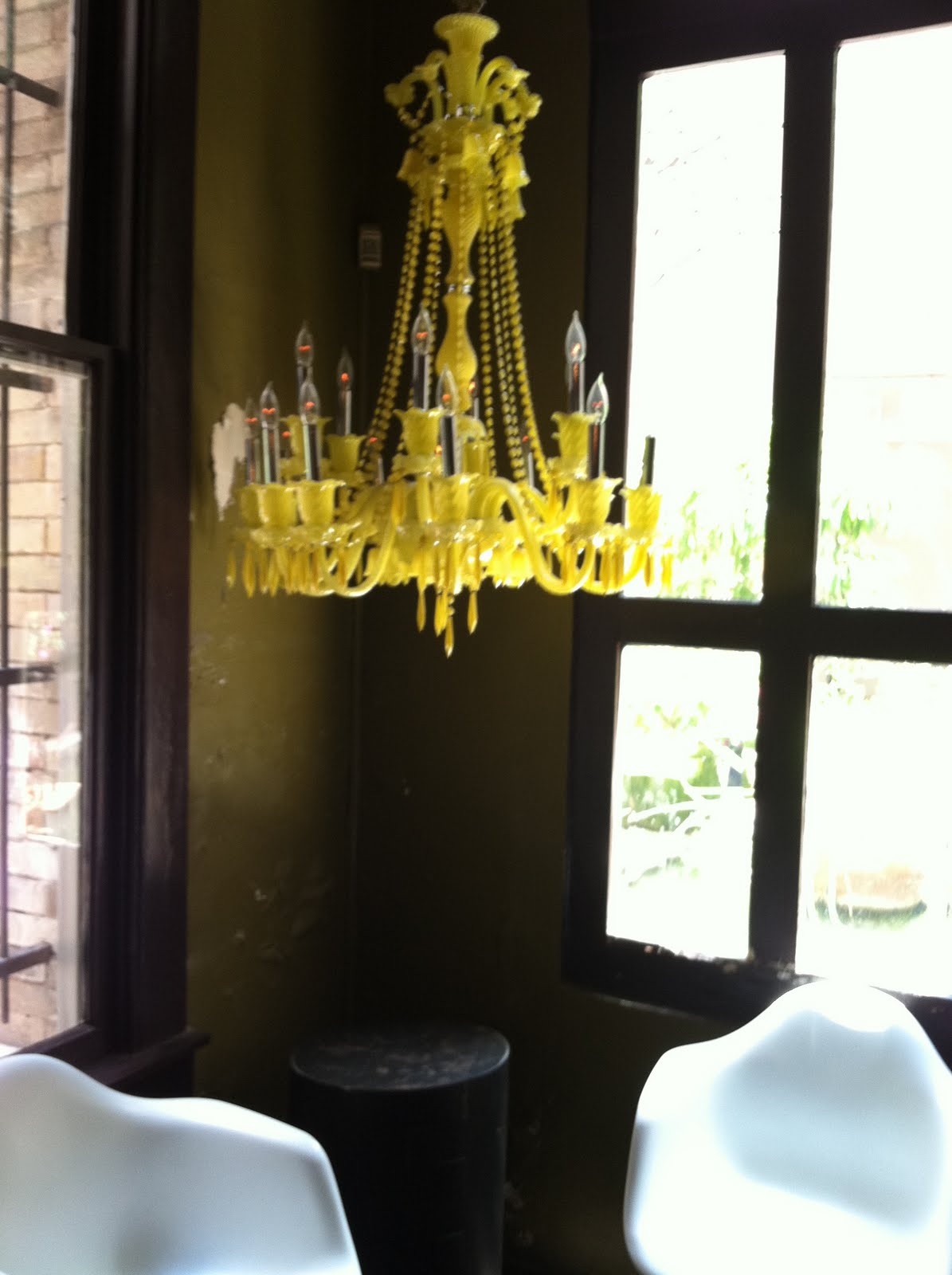 A glossy life buttercream dreams and a yellow chandelier buttercream dreams and a yellow chandelier aloadofball Gallery