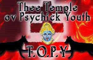logo agama Thee Temple ov Psychick Youth