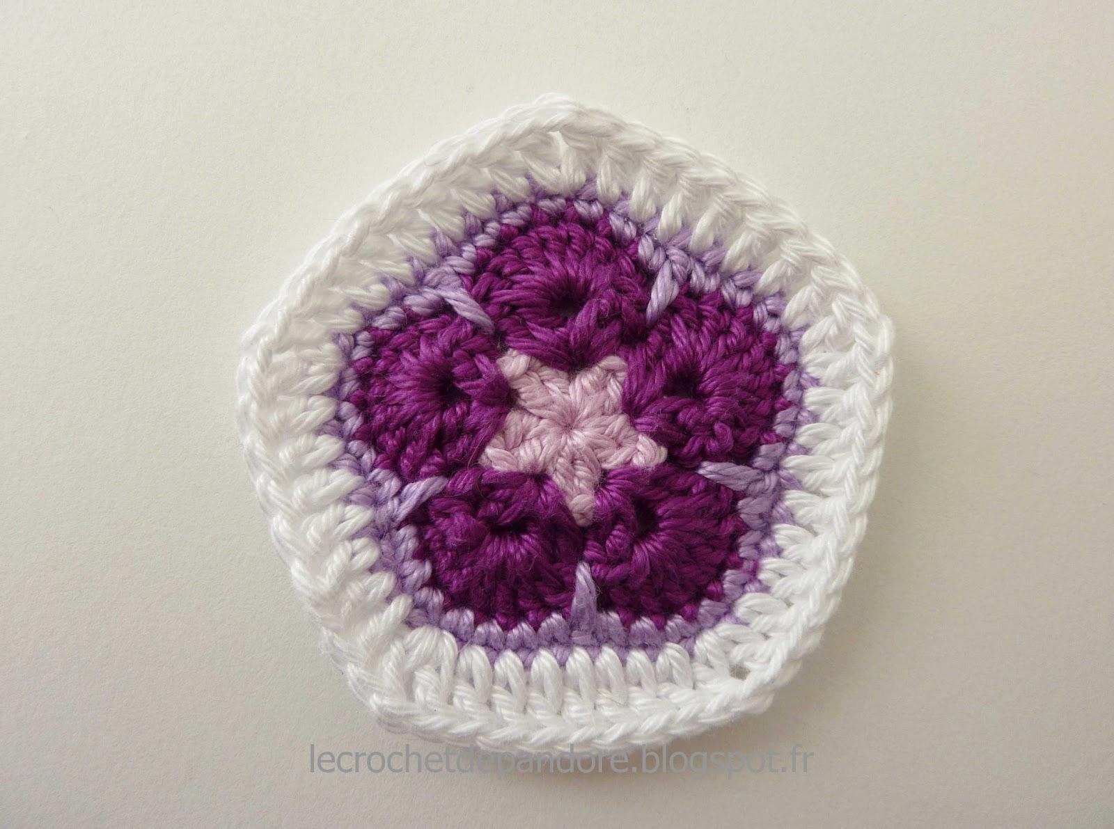 Le Crochet De Pandore Tuto Finition Invisible Arreter Le Fil