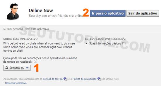 online now facebook quem ta online