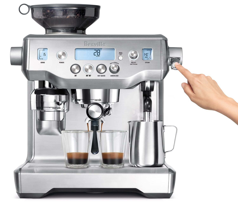 Cafetera Breville ideal para comenzar cafetería