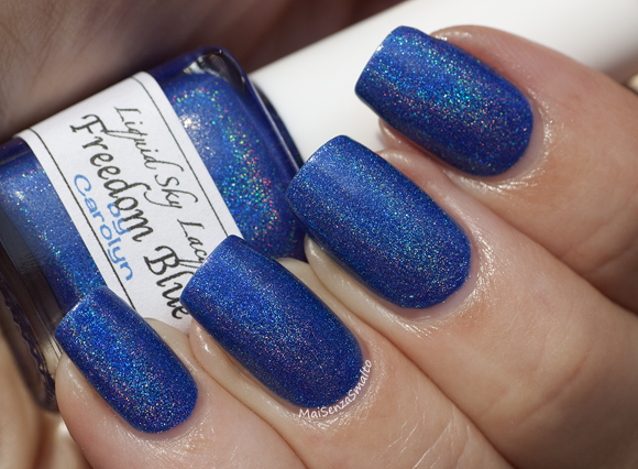 Liquid Sky Lacquer Freedom Blue