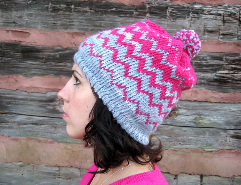 My Sweet Nomsa Zig Zag Hat Pattern