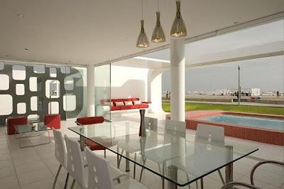 diseño casa de playa