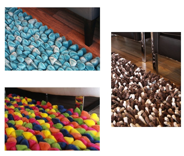 Colorful Shaggy Rugs