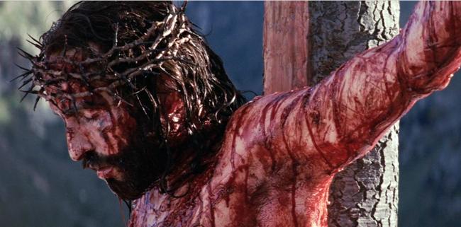 Jesus on cross passion