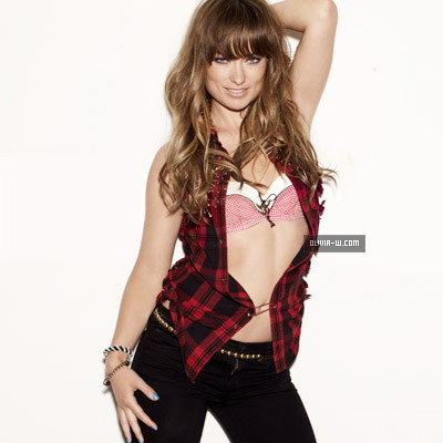 Olivia Wilde Hairstyles For Nylon Magazine August 2011 - 12