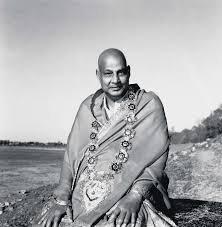 Famous yoga teacher of India