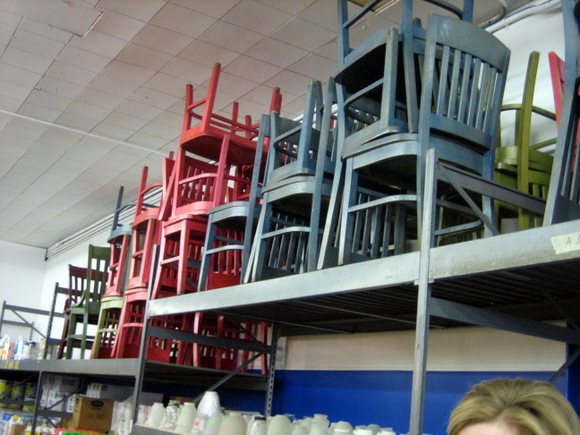 Chairs at the ReStore