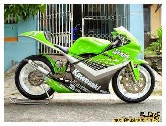 Modifikasi Kawasaki Ninja - Gambar Modifikasi Motor Ninja