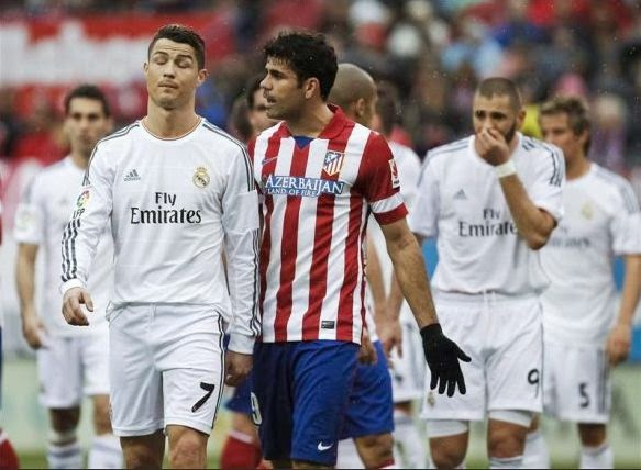 Real Madrid vs Atletico Madrid Champions League Final 2014