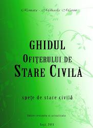 GHIDUL OFITERULUI DE STARE CIVILA- spete de stare civila