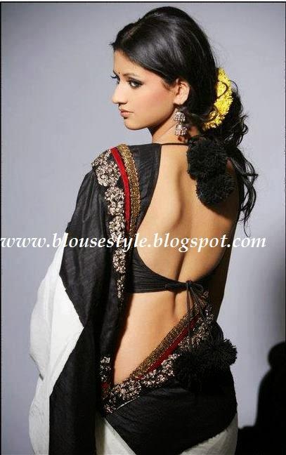 Indian Actress Backless Blouse 39