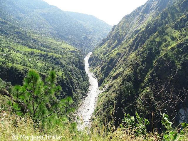 Sutlej River Kinnaur