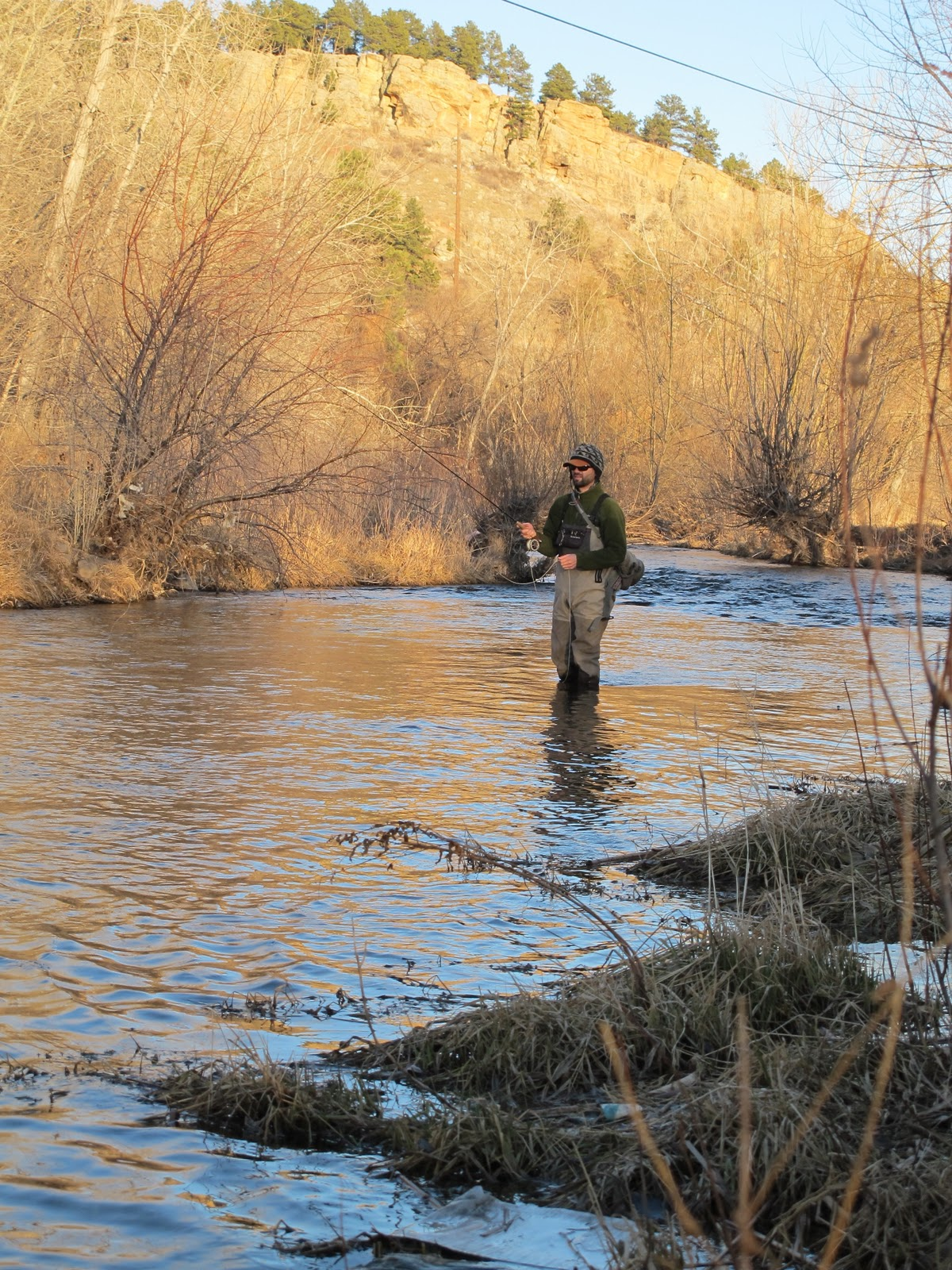 Black hills fly fishing winter eh for Black hills fly fishing