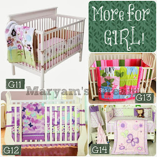Baby Bedding Set - for Girl