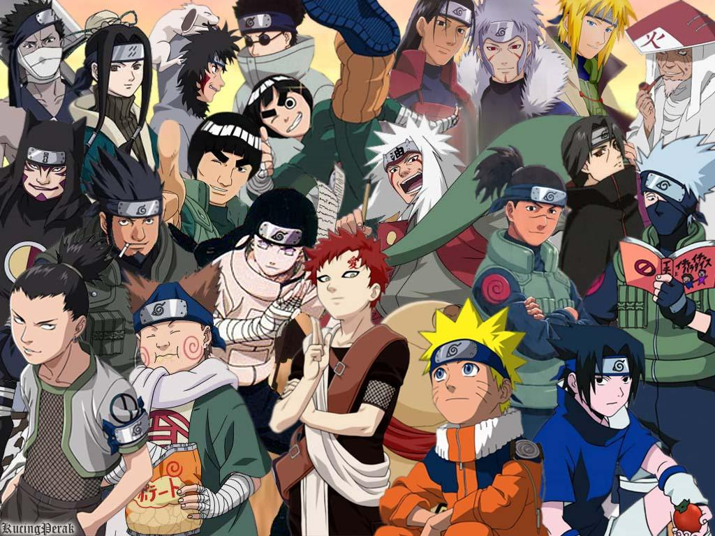 Naruto And Friends Wallpapers