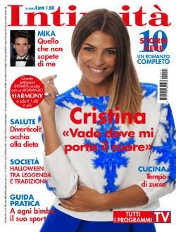 Intervista settimanale Intimità n° 44 anno 2014