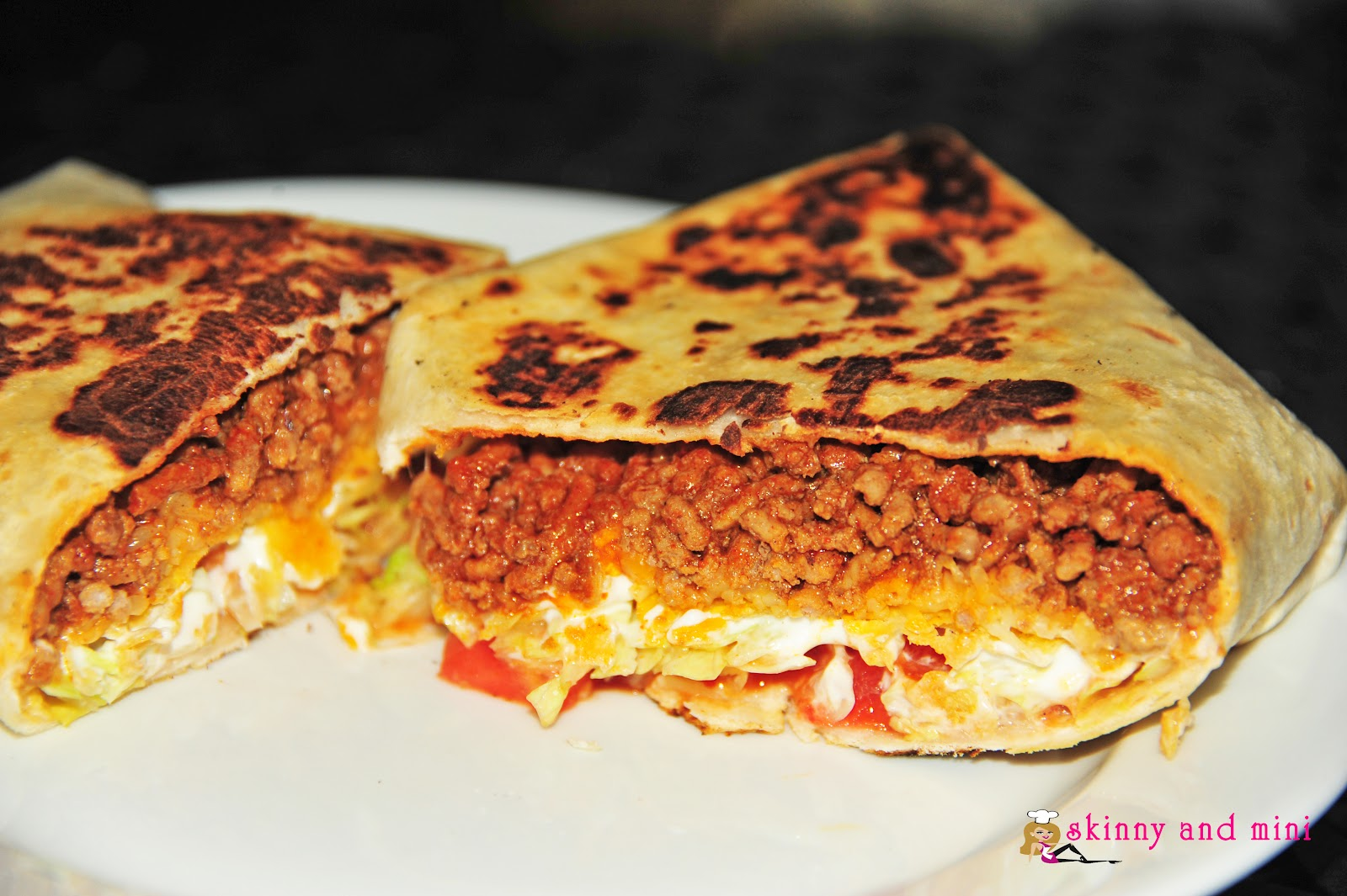 Skinny and mini fun and easy do it yourself food recipies taco taco bell crunchwrap supreme solutioingenieria Images