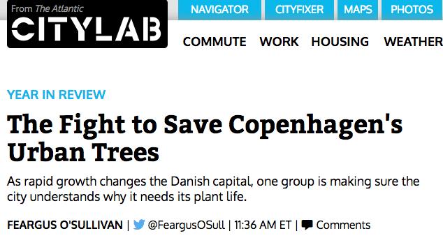 Red Byens Træer i CityLab