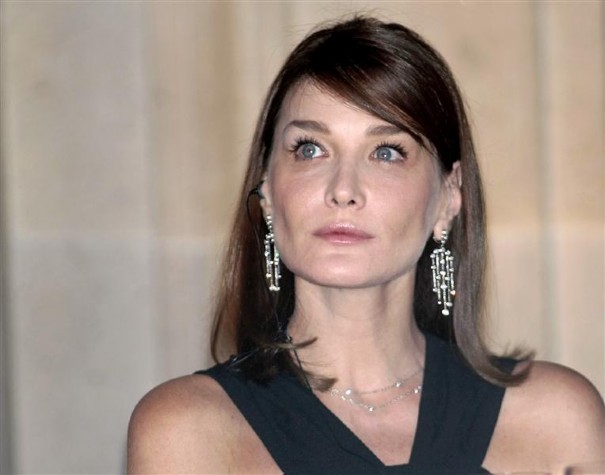french first lady Valerie Trierweiler