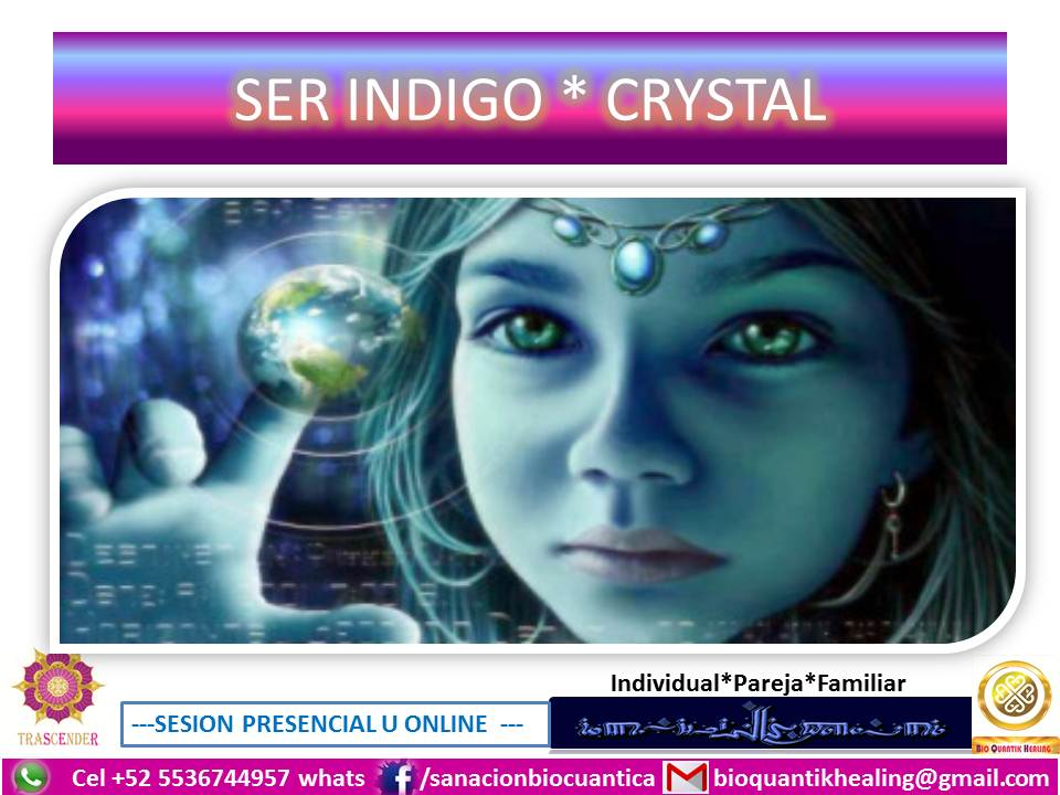 SER INDIGO * CRYSTAL