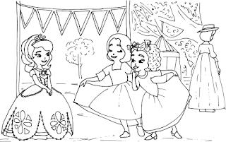 Belajar dan Menggambar Bersama Putri Sofia