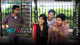 Girl Friend Hiccup Love story short film poster