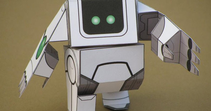 Sweet Robo Paper Craft Model - PAPEROX FREE PAPERCRAFT