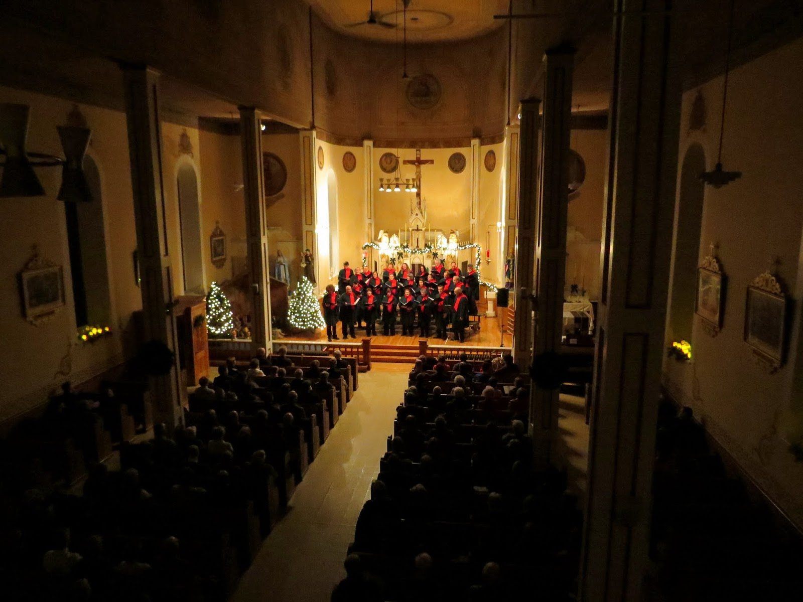 A Full House! View from the choir loft, St. Stephen's church, Chelsea, PQ Photo, Suzanne Gibeault