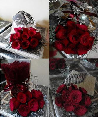 hantaran fresh flower ros merah