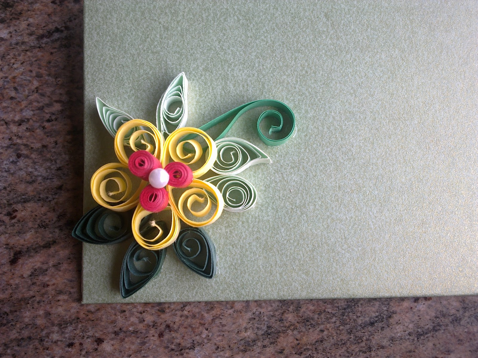 Shwetas Paper Quilling Even More Quilled Envelopes