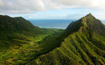 hawaii landscape wallpaper