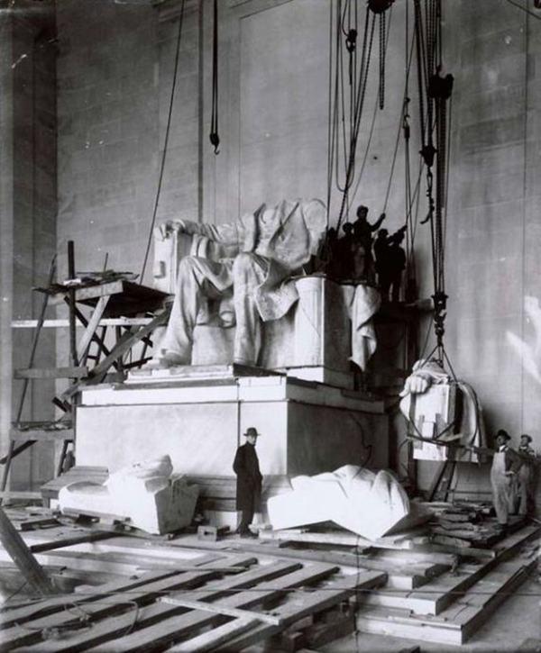 Lincoln Memorial, 1914-22