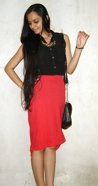 bandra shopping, vile parle shopping, thrifty shopping, best places to shop in mumbai, black shirt