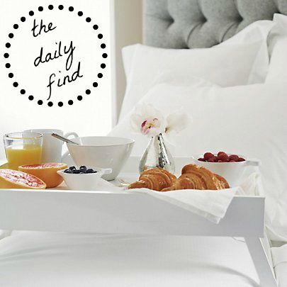 Breakfast in Bed Tray