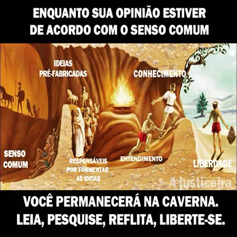 Ideias De Platão ~ FRATERLUZ A Caverna de Plat u00e3o ( Richard Simonetti)