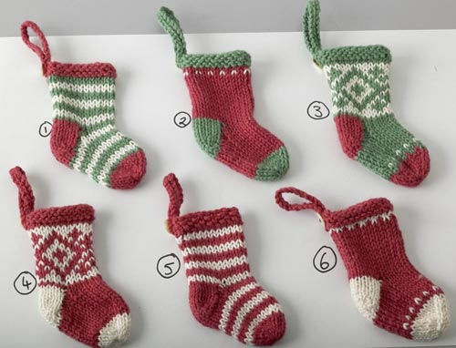 Free Stocking Knitting Pattern : christmas stocking patterns-Knitting Gallery